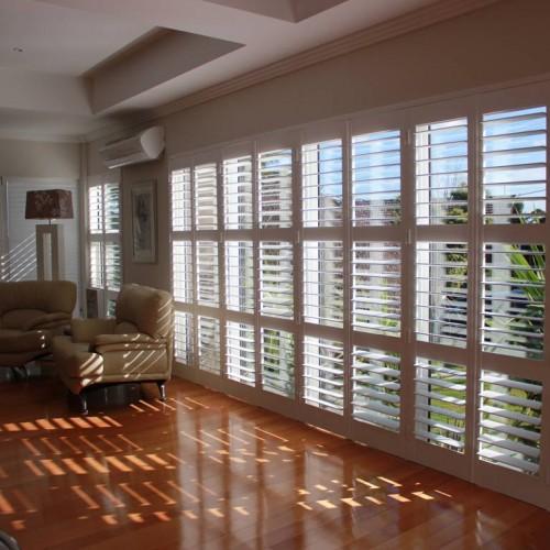 Interior shuttersmini shutters interior indoor window for Discount exterior shutters
